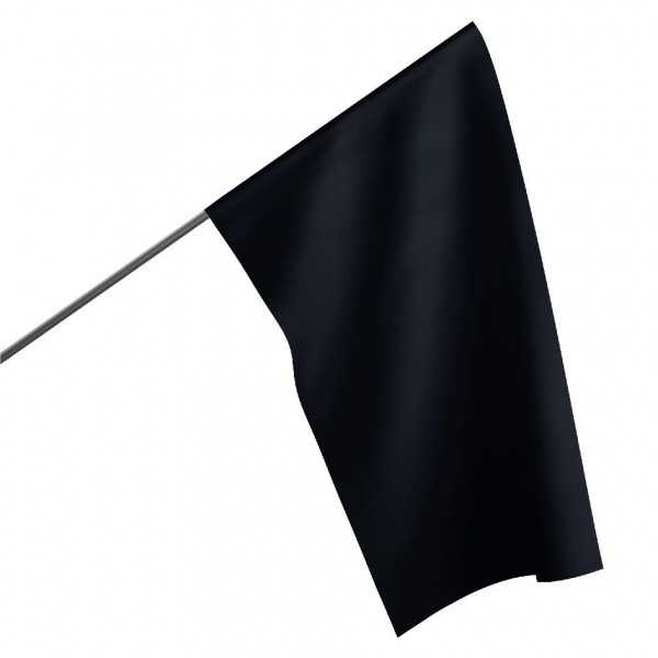Motorsportflagge SCHWARZ