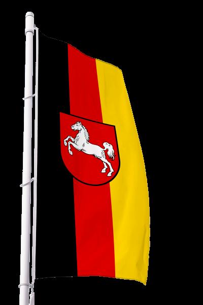 Flagge Niedersachsen im Hochformat Premium