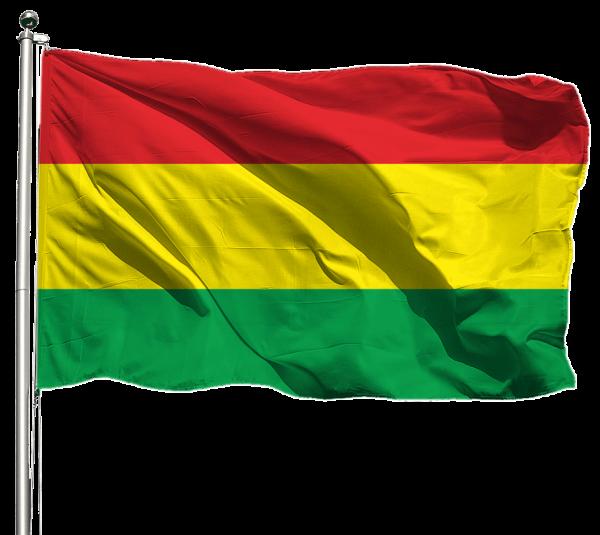 Bolivien Flagge Querformat Premium-Qualität