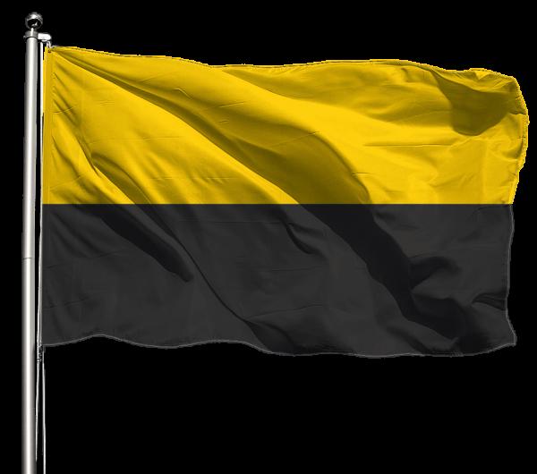 Flagge Sachsen-Anhalt o. Wappen Querformat Premium-Qualität