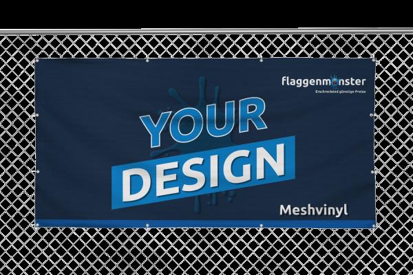 Banner Querformat Meshvinyl 300 gr./m²