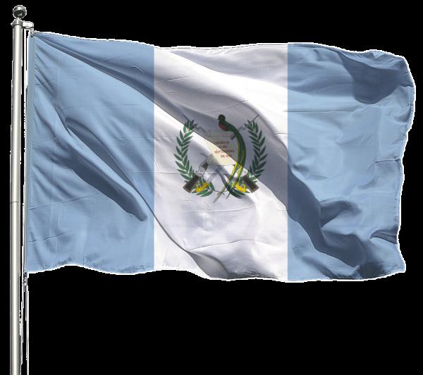 Guatemala Flagge Querformat Premium-Qualität