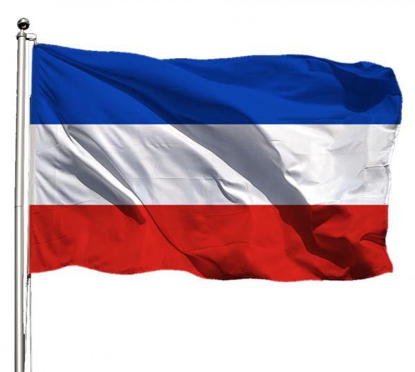 Flagge Schleswig-Holstein o. Wappen Querformat Premium-Qualität