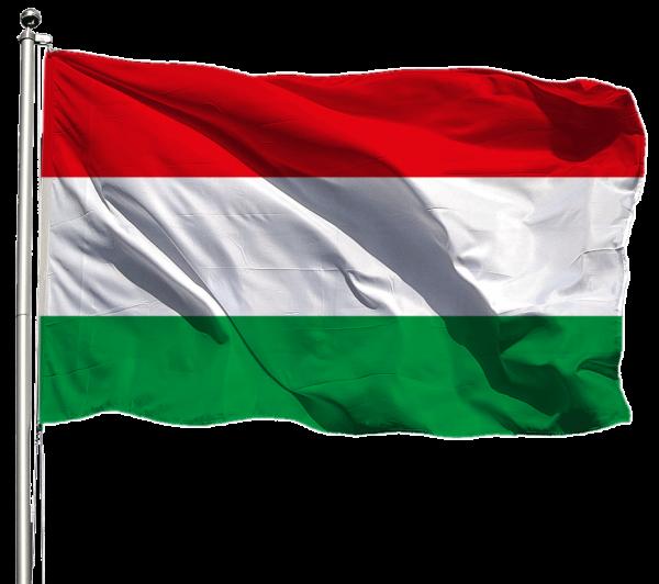 Ungarn Flagge Querformat Premium-Qualität