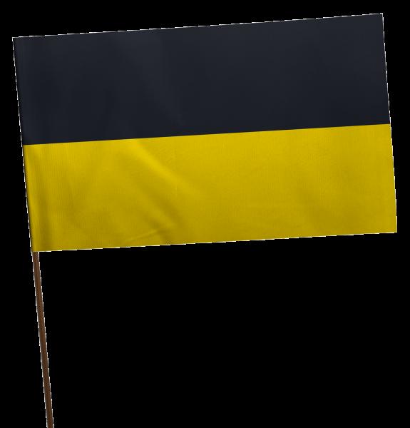 Stockflagge Baden-Württemberg ohne Wappen Premium-Qualität