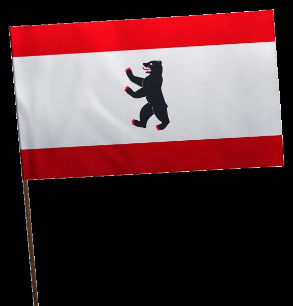 Stockflagge Berlin Premium-Qualität