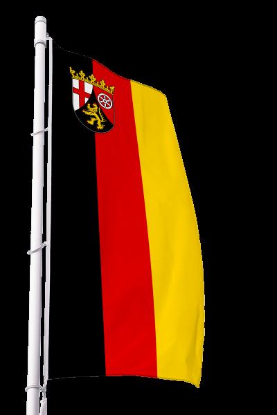 Flagge Rheinland-Pfalz im Hochformat Premium