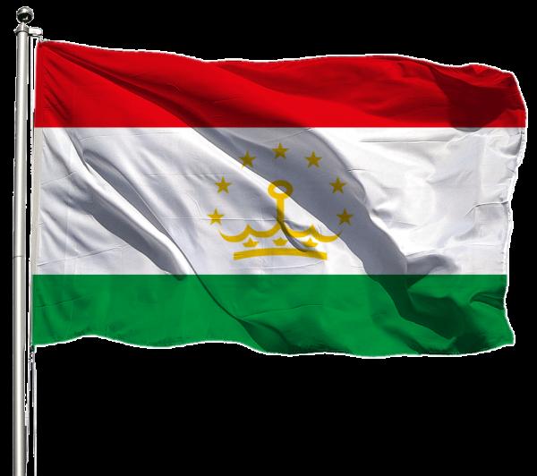 Tadschikistan Flagge Querformat Premium-Qualität