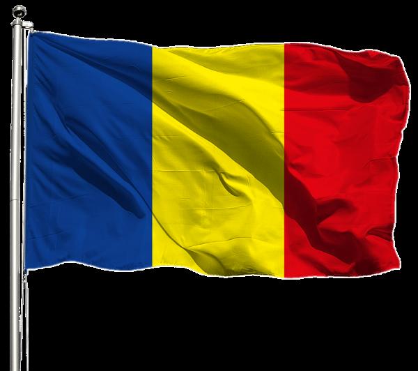 Tschad Flagge Querformat Premium-Qualität