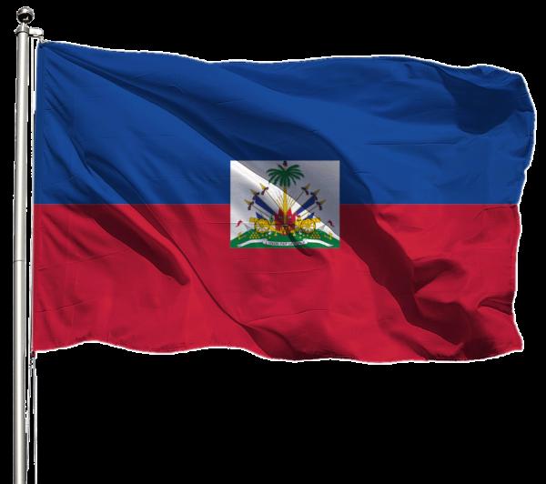 Haiti Flagge Querformat Premium-Qualität
