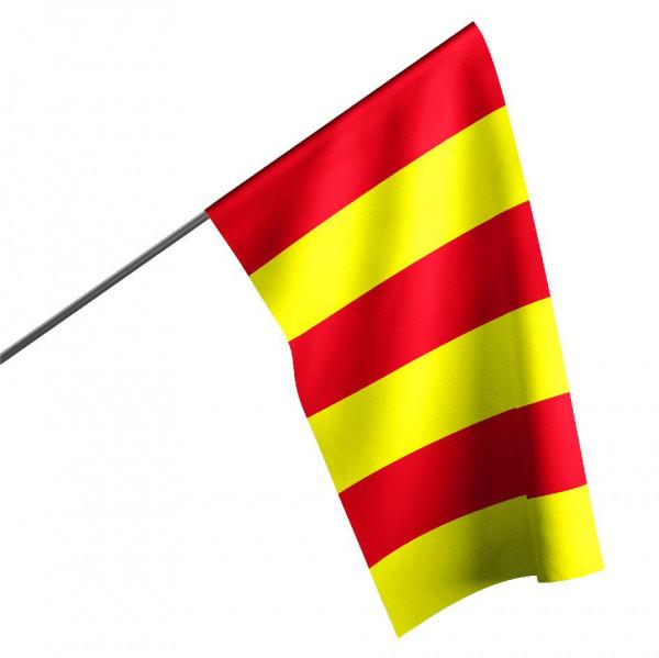 Motorsportflagge ROT-GELB