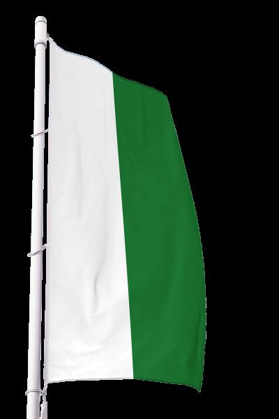 Flagge Sachsen ohne Wappen im Hochformat Premium