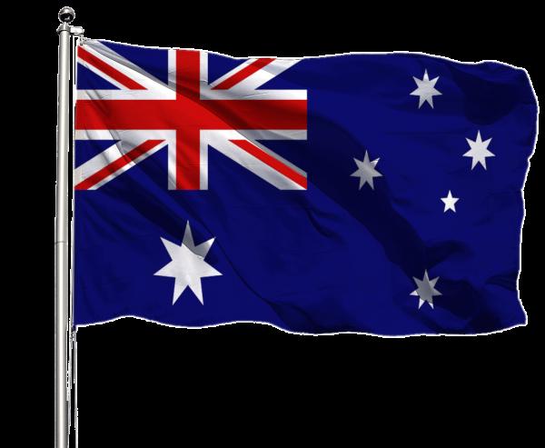 Australien Flagge Querformat Premium-Qualität