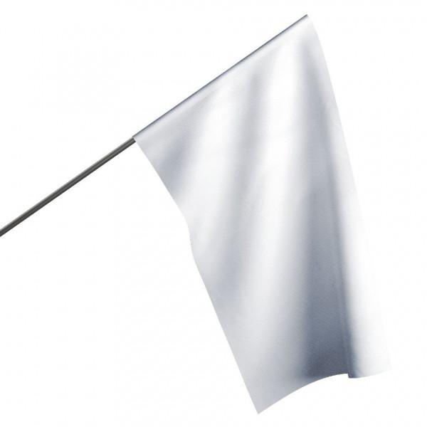 Motorsportflagge WEIß