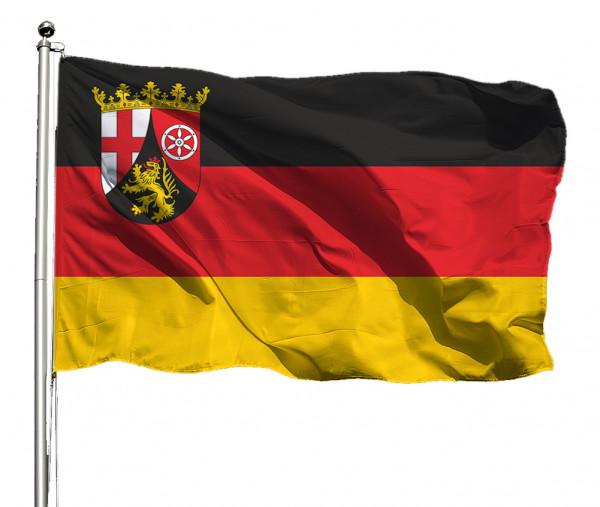 Flagge Rheinland-Pfalz Querformat Premium-Qualität
