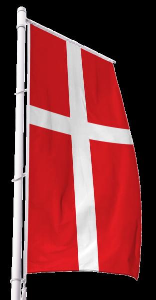 Ökumenische Kirchenfahne im Hochformat Premium