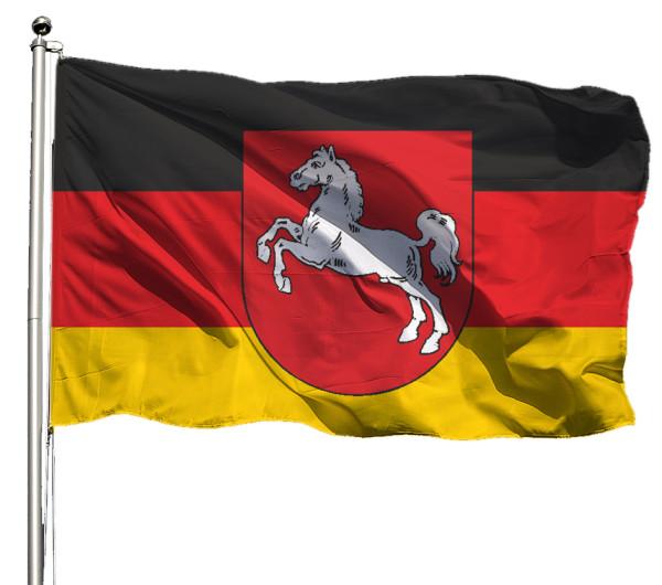 Flagge Niedersachsen Querformat Premium-Qualität