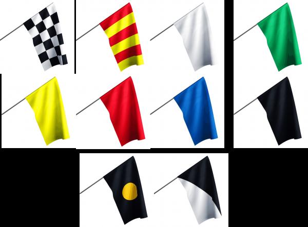 Motorsport Streckenposten - Set