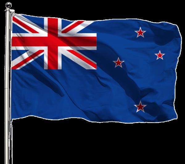 Neuseeland Flagge Querformat Premium-Qualität