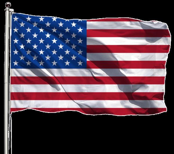 USA Flagge Querformat Premium-Qualität