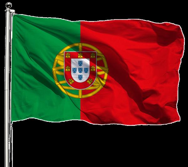 Portugal Flagge Querformat Premium-Qualität
