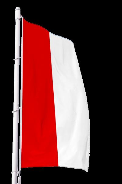 Flagge Brandenburg ohne Wappen im Hochformat Premium