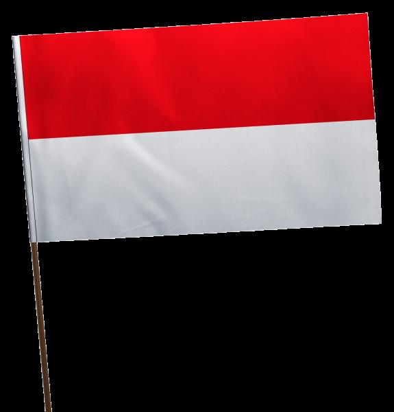 Stockflagge Hessen ohne Wappen Premium-Qualität