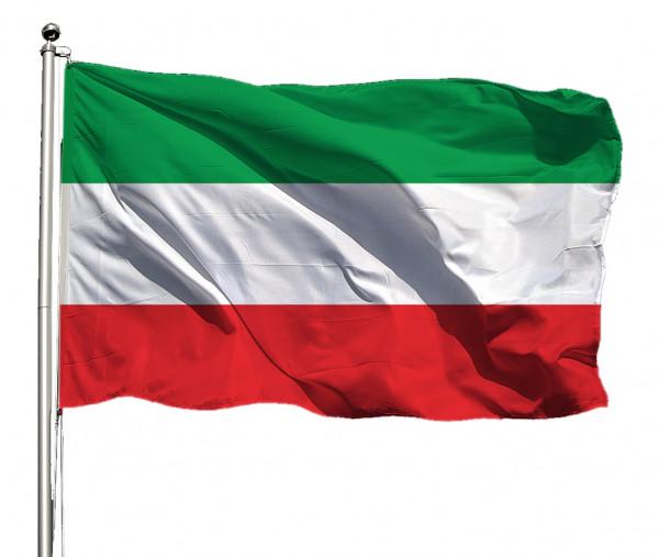 Flagge Nordrhein-Westfalen o. Wappen Querformat Premium-Qualität
