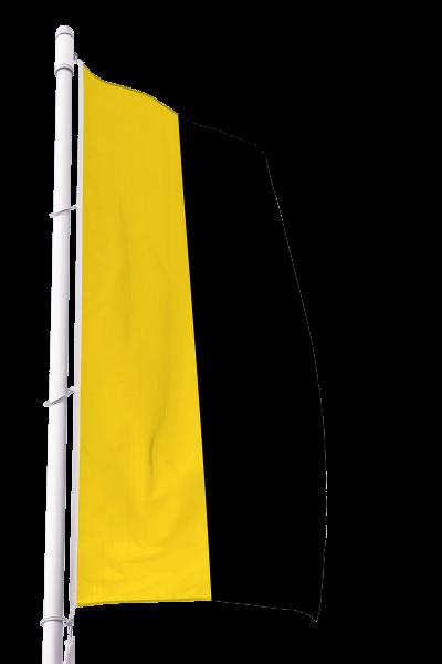 Flagge Sachsen-Anhalt ohne Wappen im Hochformat Premium