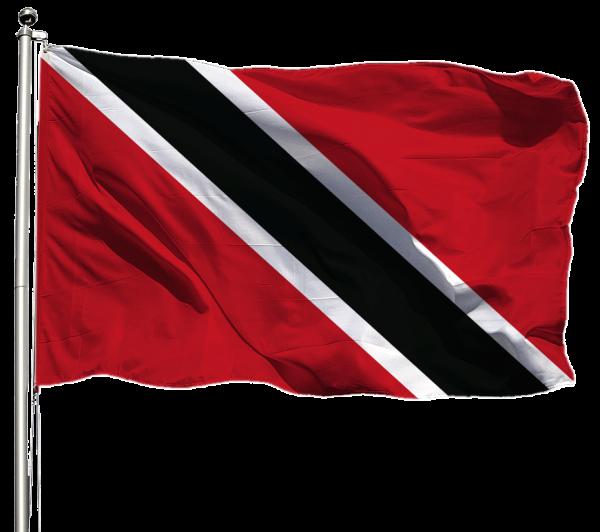 Trinidad & Tobago Flagge Querformat Premium-Qualität