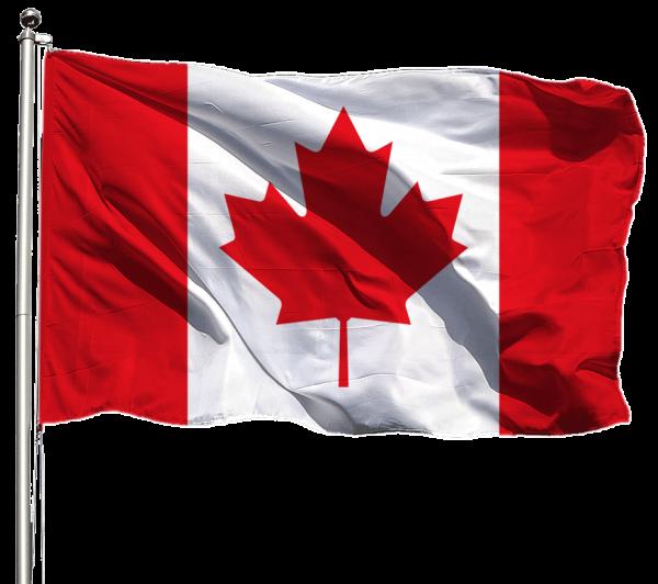 Kanada Flagge Querformat Premium-Qualität