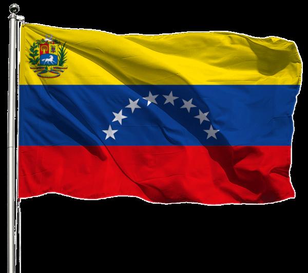 Venezuela Flagge Querformat Premium-Qualität
